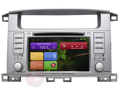 RedPower 31183 IPS DSP (DVD) для Toyota LC 100